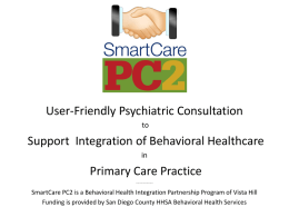 Smartcare PC2 - PC2 Education
