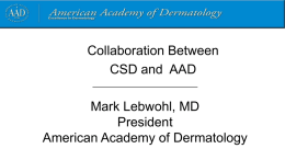 Access to Prescription Drugs - American Academy of Dermatology