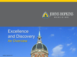 Overview - Hopkins Medicine - Johns Hopkins Medicine
