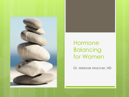 Hormone Balancing - Kinetic Patterns Health Blog