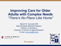 TITLE HERE - American Academy of Home Care Medicine