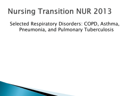 Transition Resp ppt