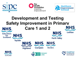 Care Bundle - Healthcare Improvement Scotland