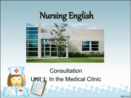 Nursing English