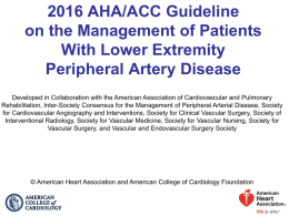 PowerPoint File - American College of Cardiology