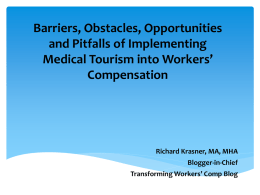 Legal Barriers to Implementing International Providers into Medical