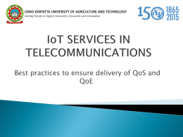 iot services in telecommunications