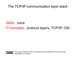 TCP/IP introduction