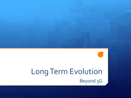 Long Term Evolution - Gabriele Falciasecca