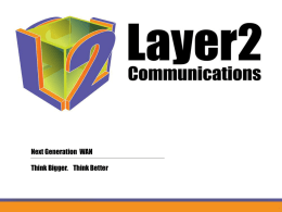 VPLS Network - Layer2 Communications