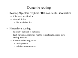 Routing Protocols RIP, OSPF, BGP