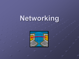 Network definitions