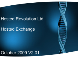 Hosted Revolution Ltd
