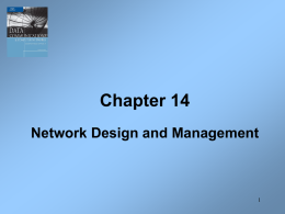 Network Design - DePaul University