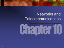 Network and Telecommunications