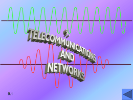 9. TELECOMMUNICATIONS - Inicio | Facultad de Ciencias
