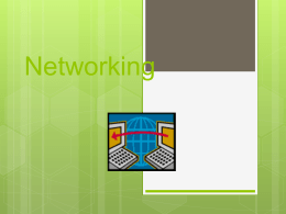 Network definitions - Moore Public Schools