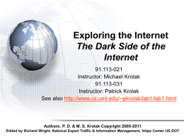 Exploring The Internet The Dark Side Of The Internet
