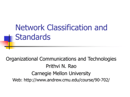 Evolution of PC_LANS and Networks - Andrew.cmu.edu