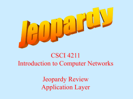 Jeopardy-application - CSE Labs User Home Pages