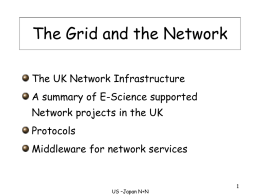 The Grid and the Network - National e