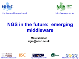 emerging middleware - National e