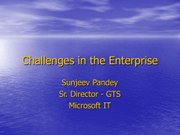 PPT - Pandey - Microsoft Research
