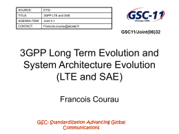3GPP Long Term Evolution and System Architecture - Docbox