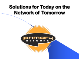 Primary Network Story Printable