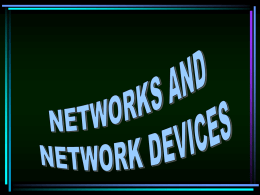 1.2 Types of Network Topologies