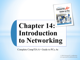 Chapter 1 Introduction to Computer Repair