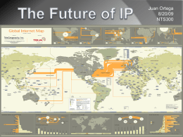 The Future of IP - Network Security Portfolio
