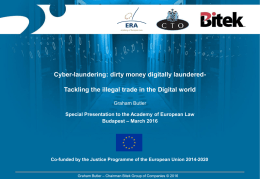 Tackling the illegal trade in the Digital world