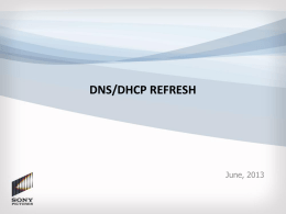 DNS-DHCP Refresh - Green Light Deck - Final