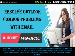 Resolve Outlook Common Problems With Email