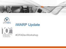 12.00_2014_OFA_Workshop_iWARP_Updatex