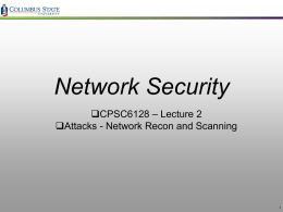 Network Security - IIS Windows Server