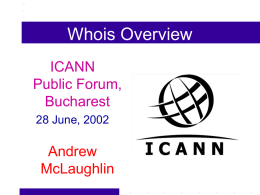 bucharest-whois-ajm