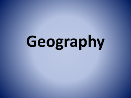 Geography - Simpson County Schools