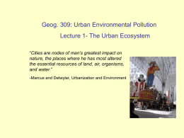 geog309_ecosystem_lecture1 - Cal State LA