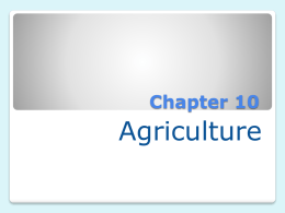 Ch.10-Agriculture - Effingham County Schools
