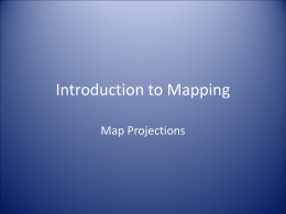 Introduction to Mapping