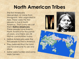 The First Americans - NHA7