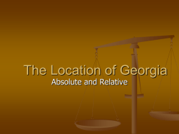 Georgias Geography