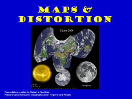 Geography Maps & Distortion