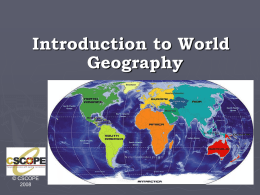 What is Geography????