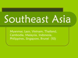 Southeast Asia - Cobb Learning