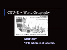 ki 1 note - WorldGeographyA
