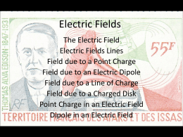 Electric Fields - Mansfield Public Schools