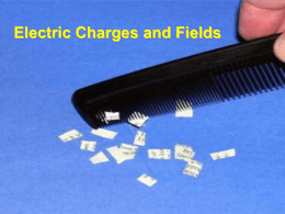 8.1 Electric Charge and Electric Field